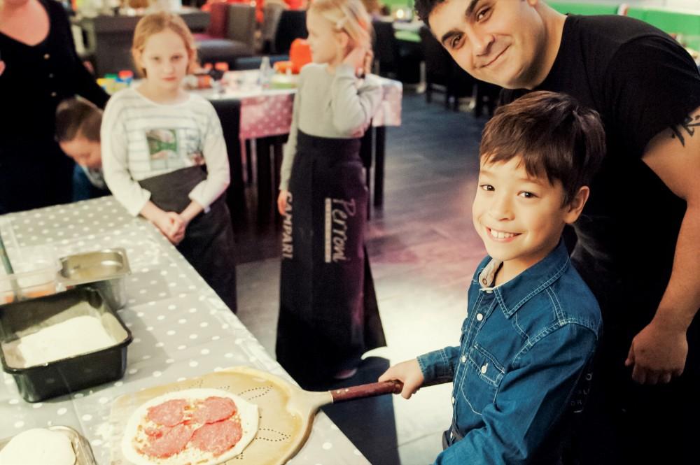 workshop pizza